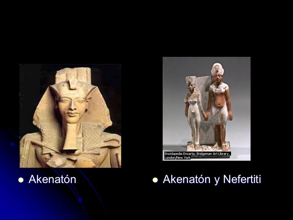 Akenatón Akenatón y Nefertiti
