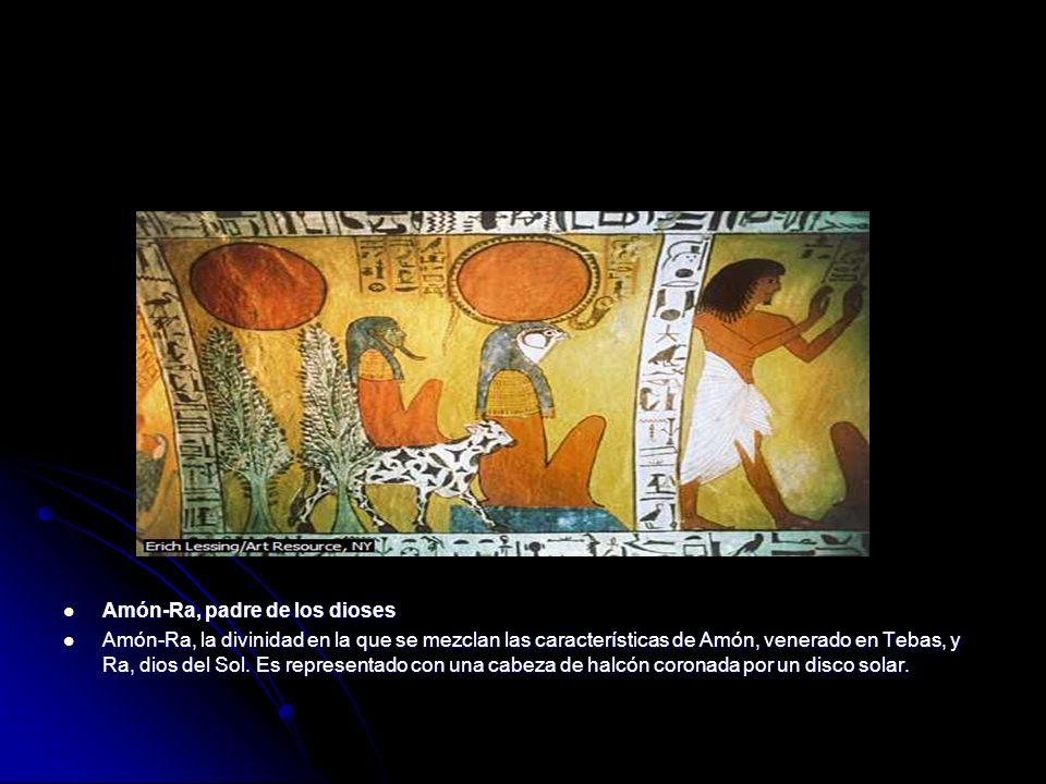 Amón-Ra, padre de los dioses