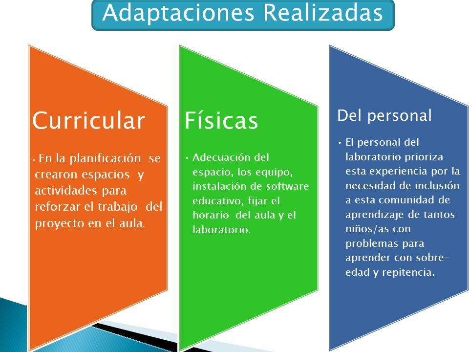 Adaptaciones Realizadas