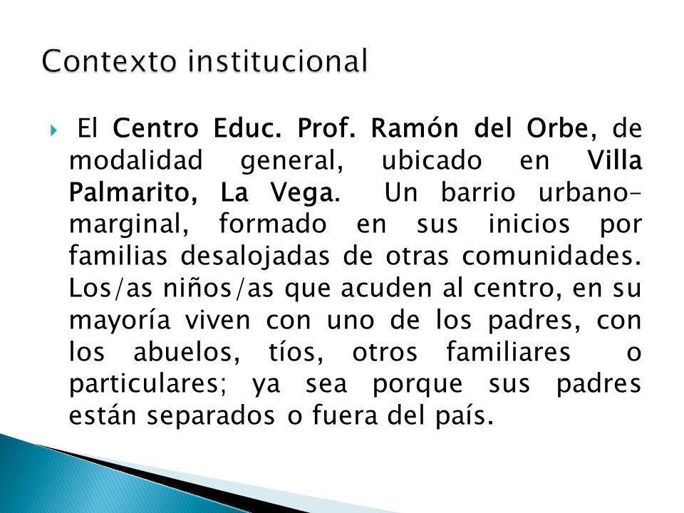 Contexto institucional