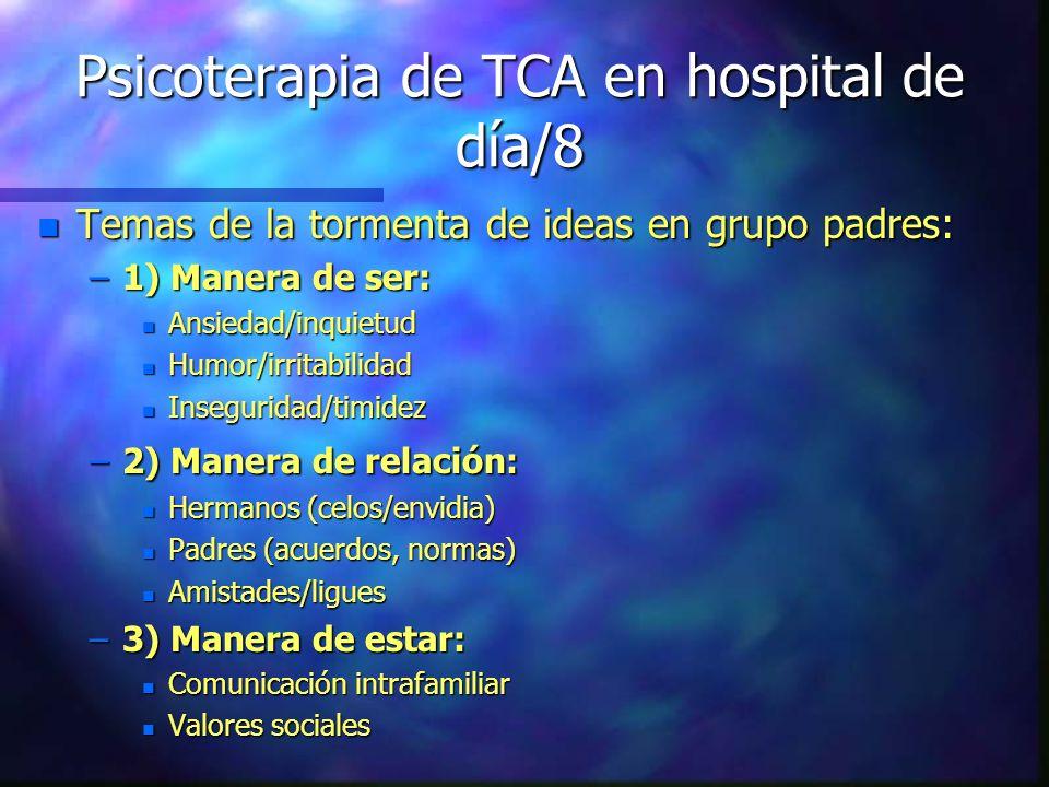 Psicoterapia de TCA en hospital de día/8