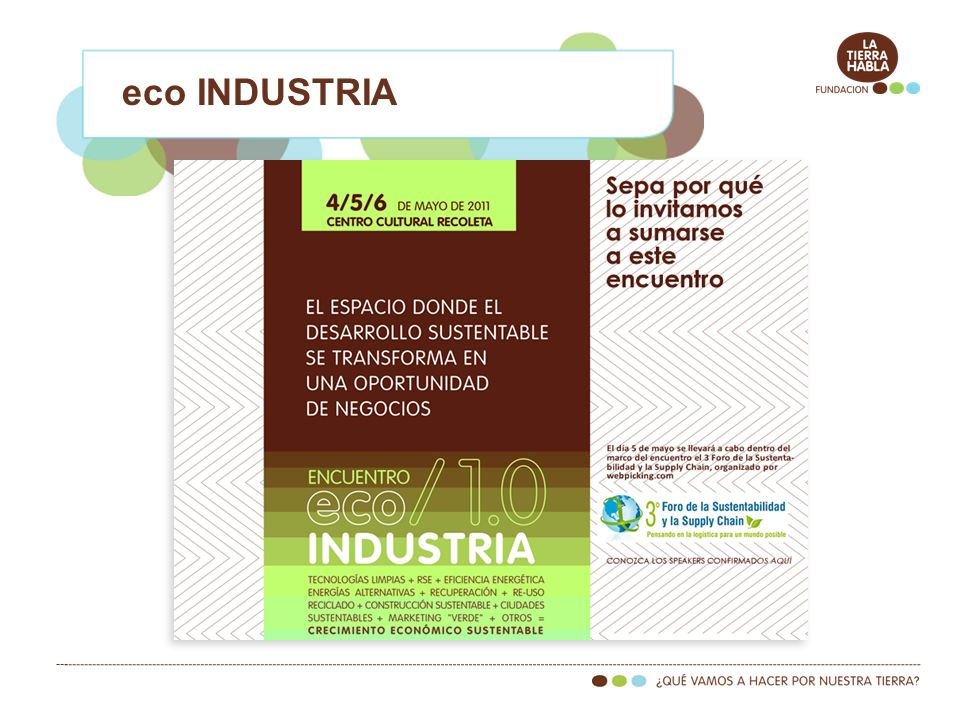 eco INDUSTRIA