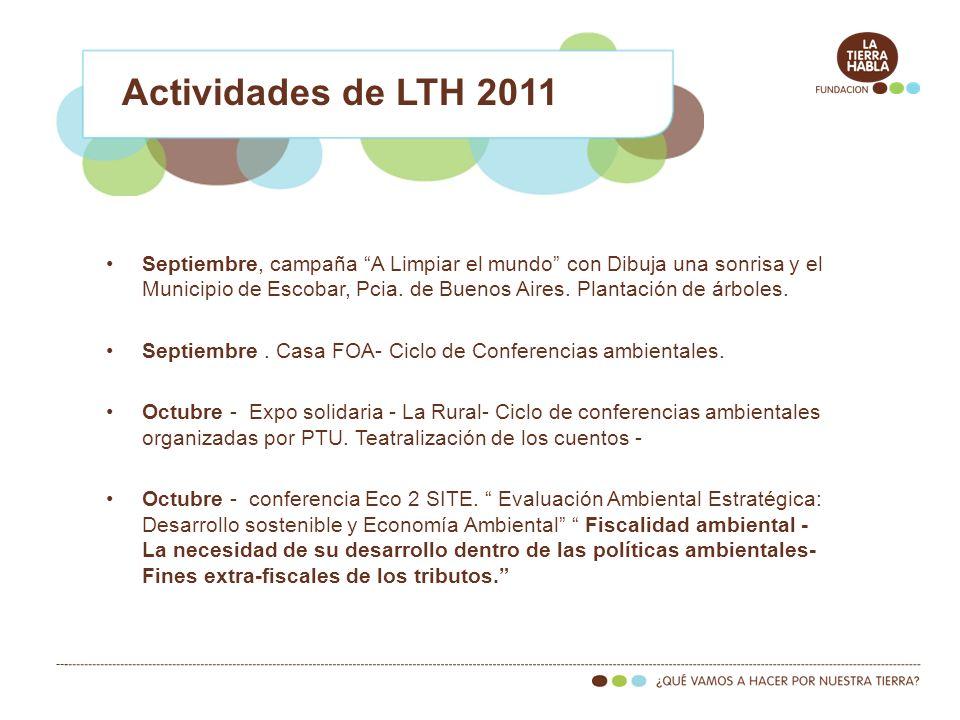 Actividades de LTH 2011