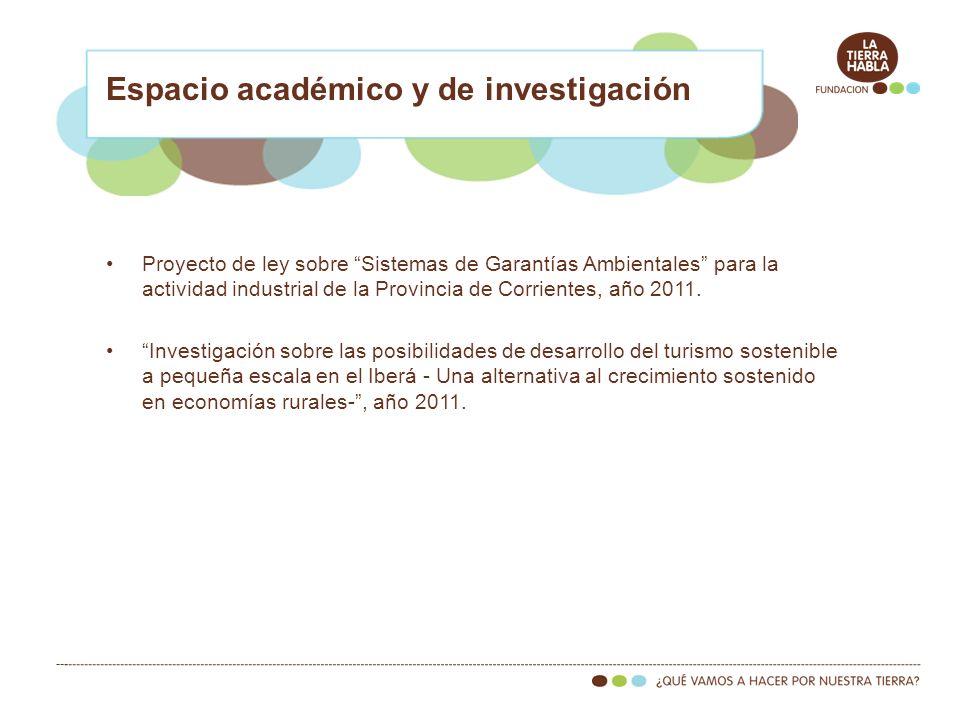 Espacio académico y de investigación