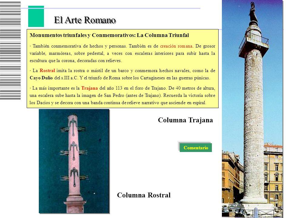 El Arte Romano Columna Trajana Columna Rostral