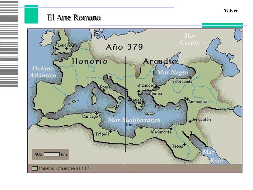 Volver El Arte Romano