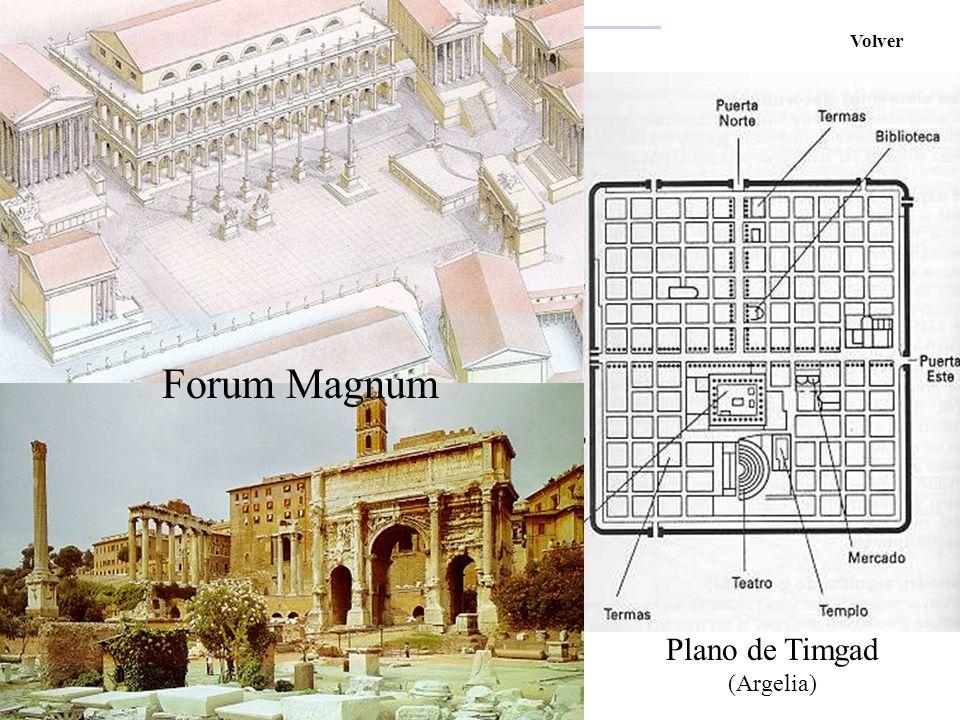 Plano de Timgad (Argelia)