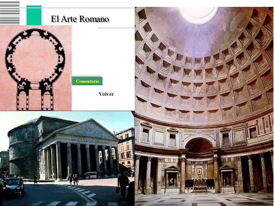 El Arte Romano Comentario Volver