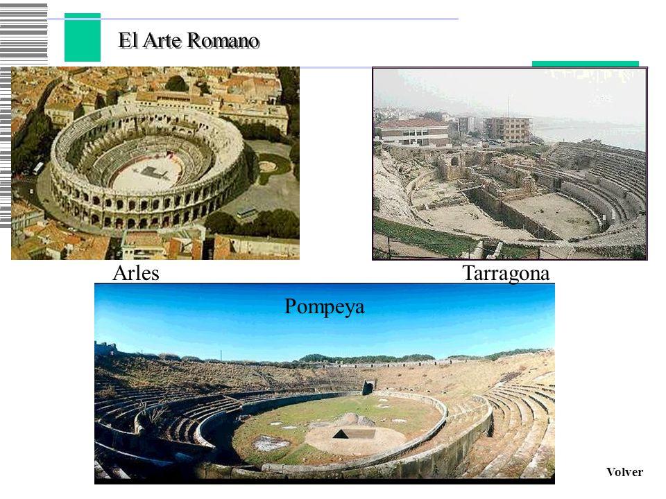 El Arte Romano Arles Tarragona Pompeya Volver