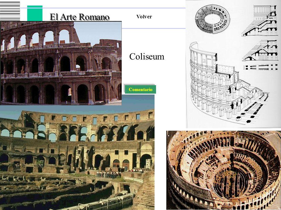 El Arte Romano Volver Coliseum Comentario
