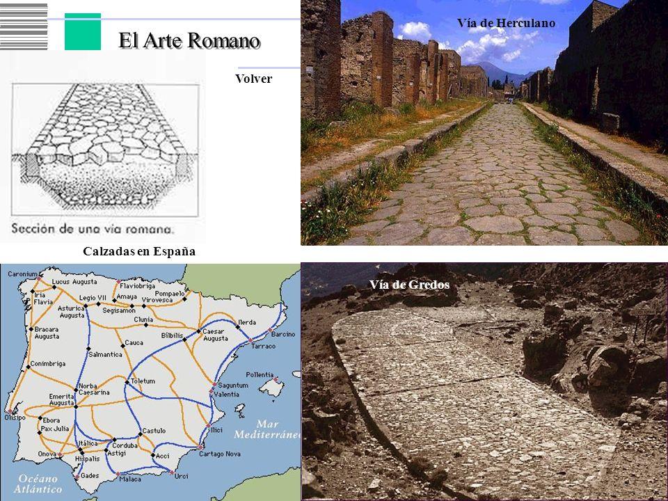 El Arte Romano Vía de Herculano Volver Calzadas en España