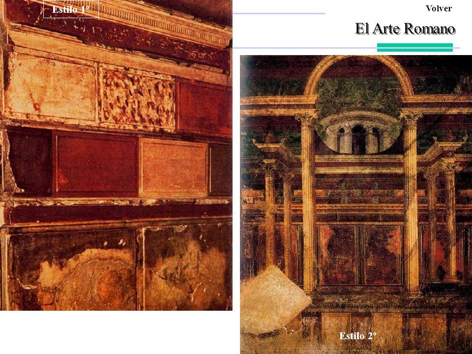 El Arte Romano Estilo 1º Pompeyo Ara Pacis Afrodita Estilo 4º