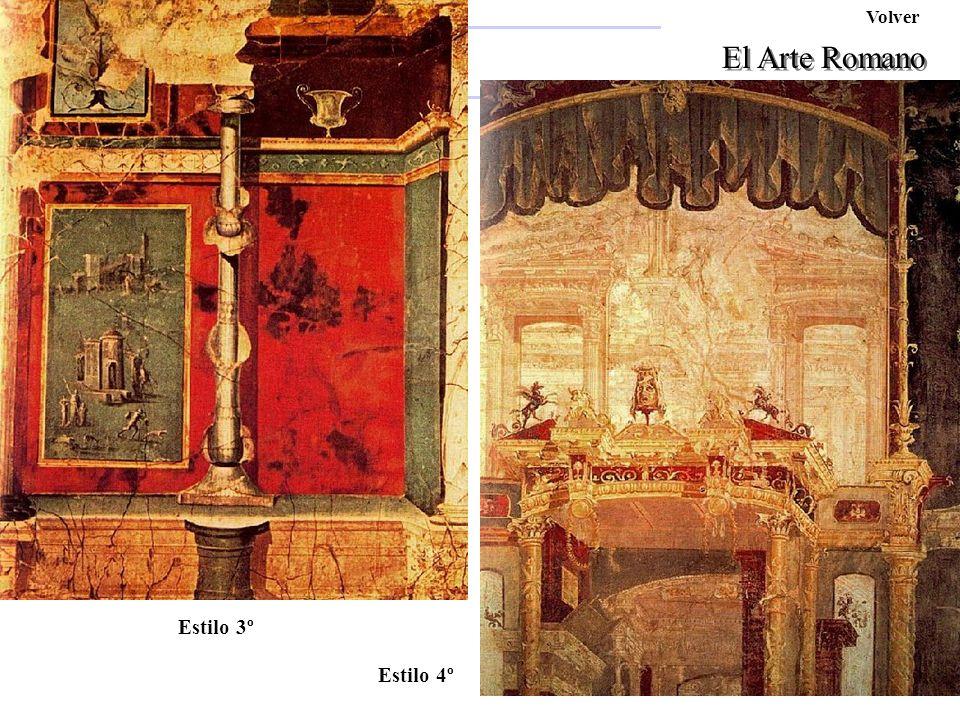 Pompeyo Volver El Arte Romano Ara Pacis Afrodita Estilo 3º Estilo 4º