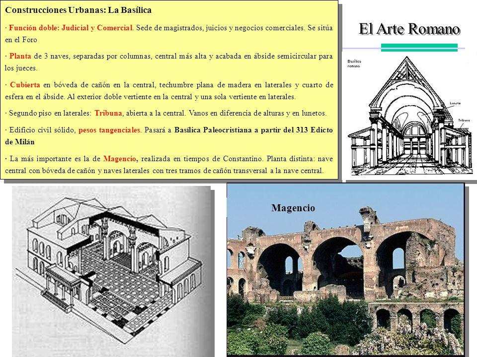 El Arte Romano Magencio Construcciones Urbanas: La Basílica