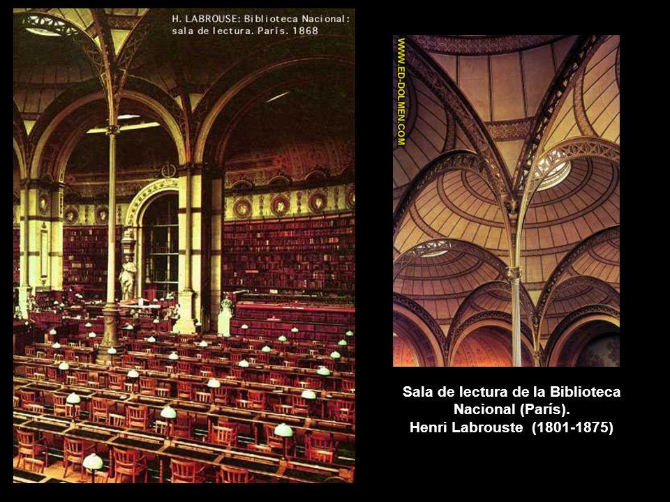 Sala de lectura de la Biblioteca Nacional (París)