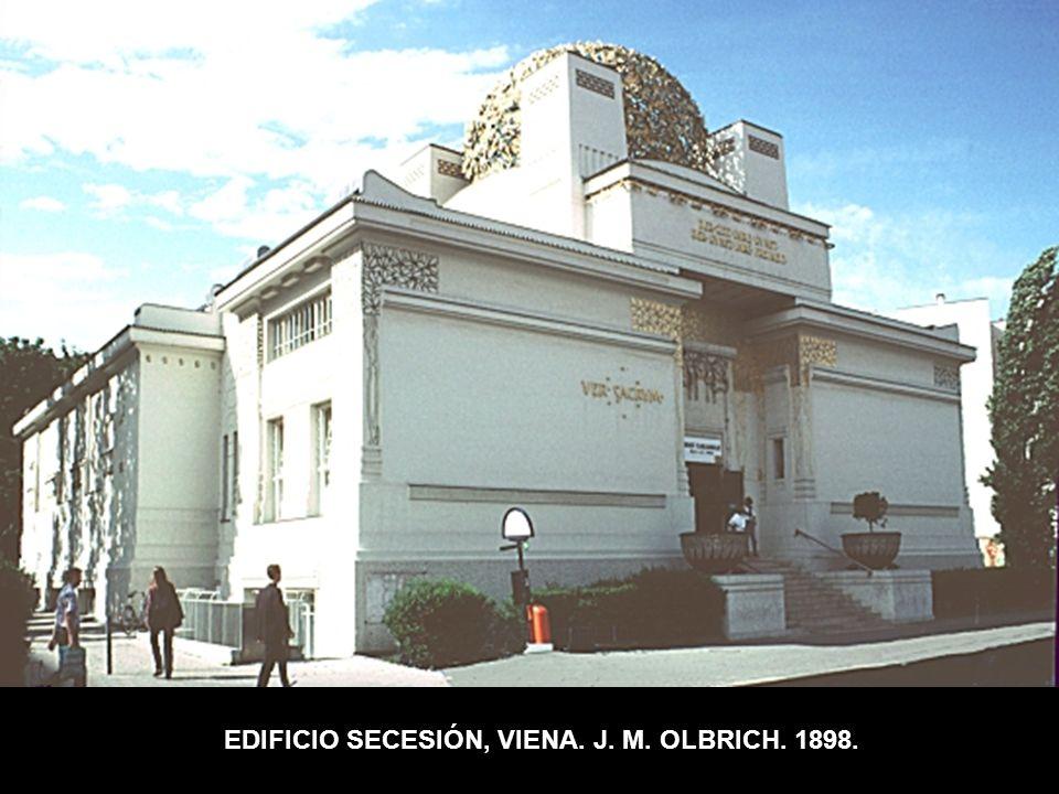 EDIFICIO SECESIÓN, VIENA. J. M. OLBRICH. 1898.