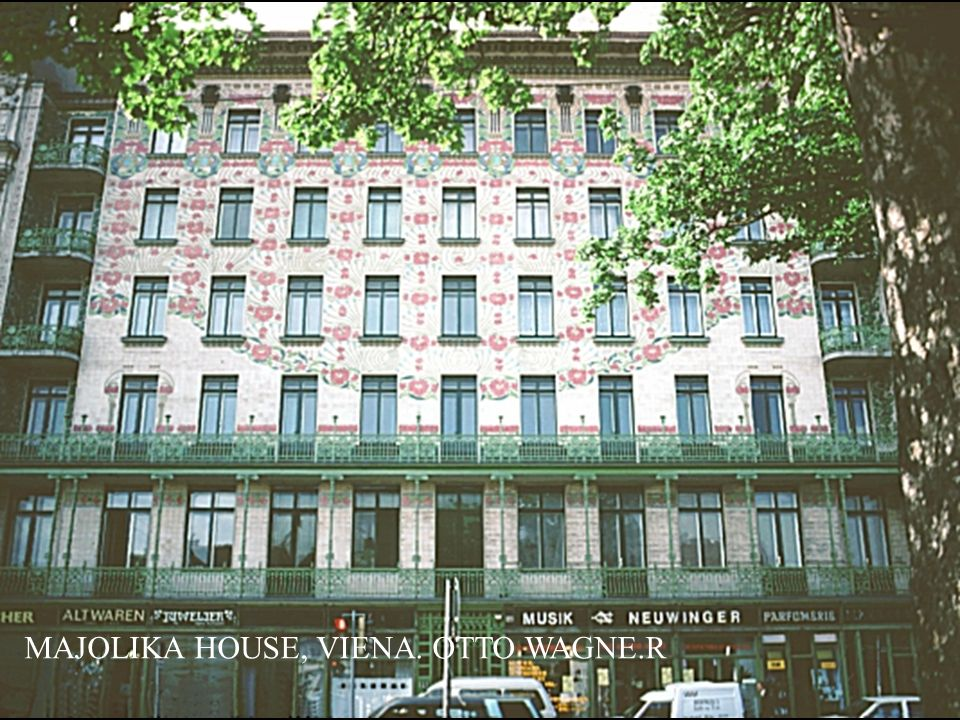 MAJOLIKA HOUSE, VIENA. OTTO WAGNE.R