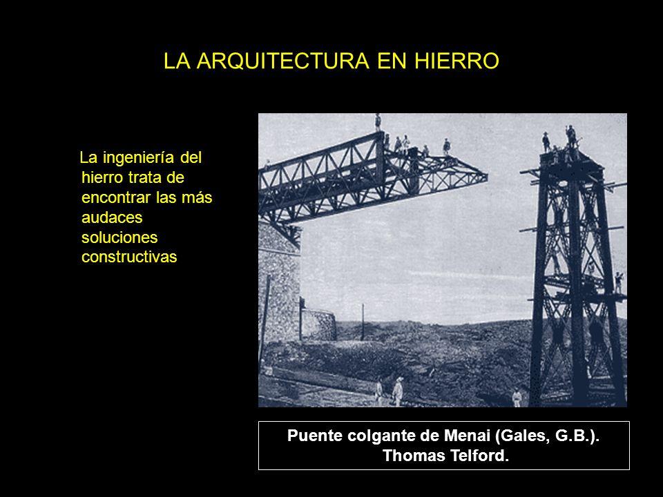 LA ARQUITECTURA EN HIERRO
