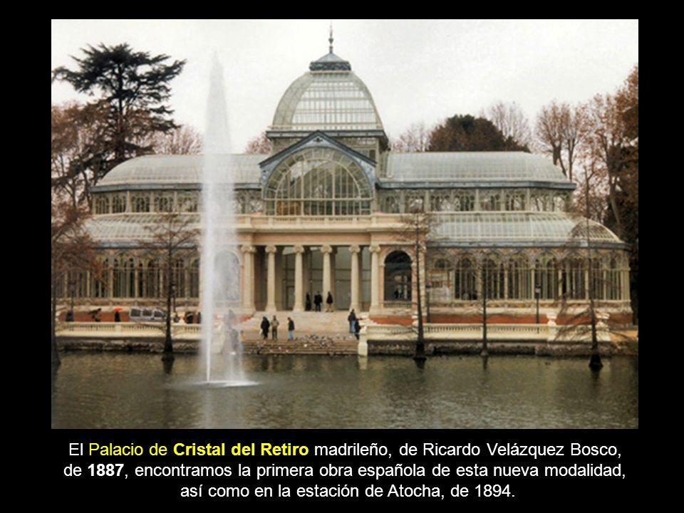 de 1887, encontramos la primera obra española de esta nueva modalidad,