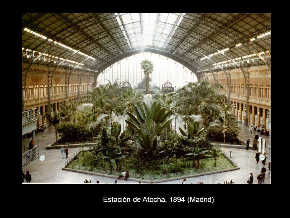 Estación de Atocha, 1894 (Madrid)