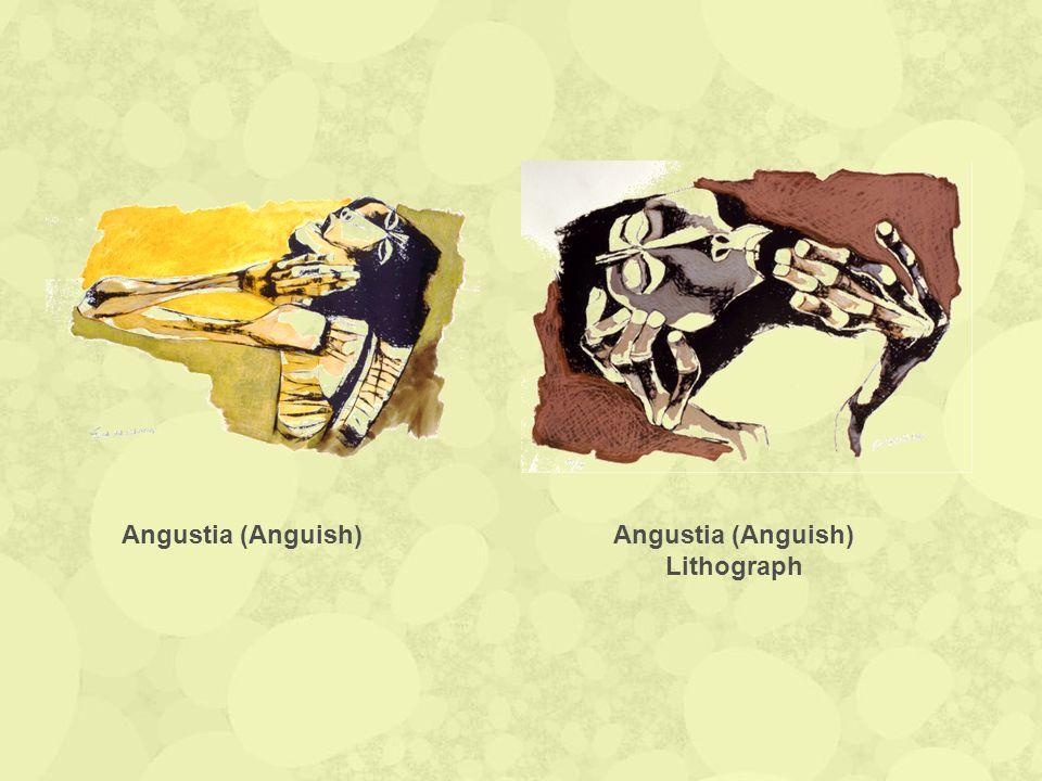 Angustia (Anguish) Lithograph