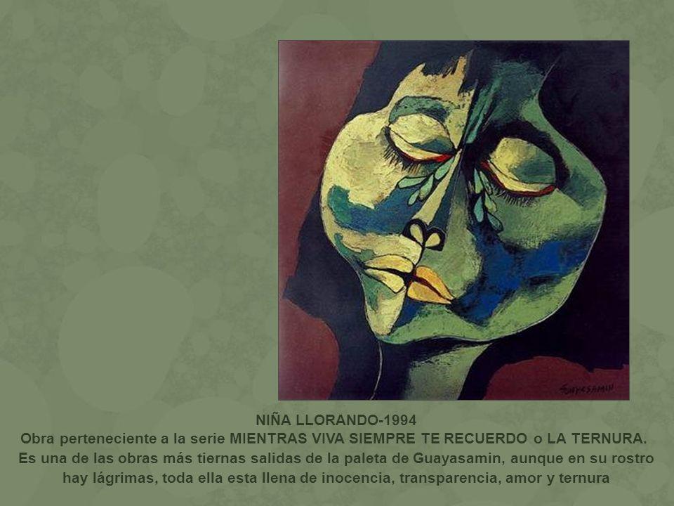 NIÑA LLORANDO-1994