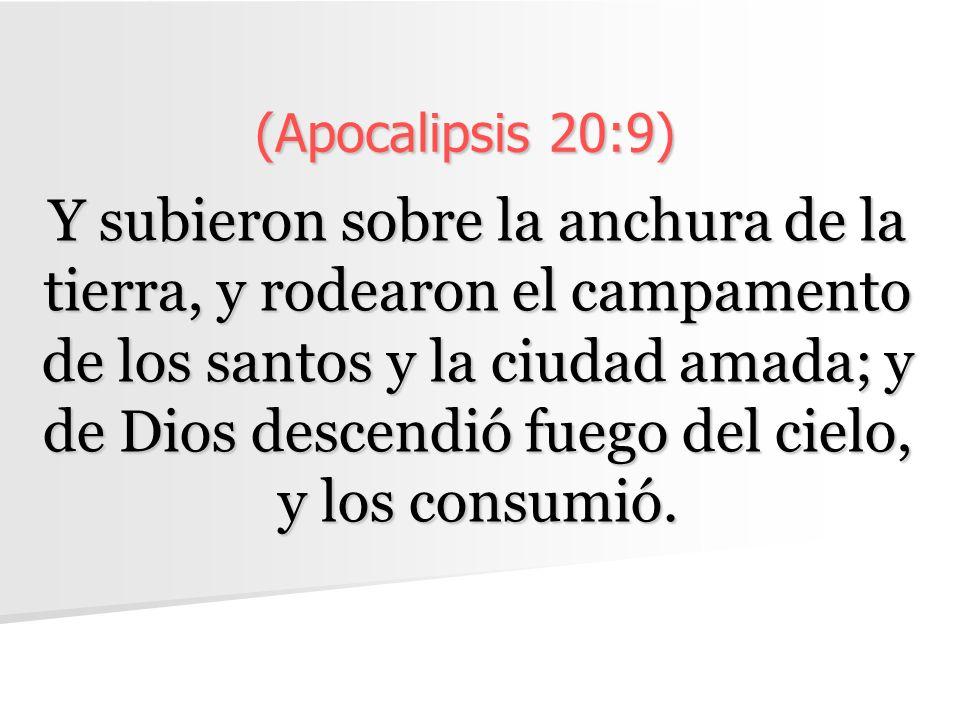 (Apocalipsis 20:9)