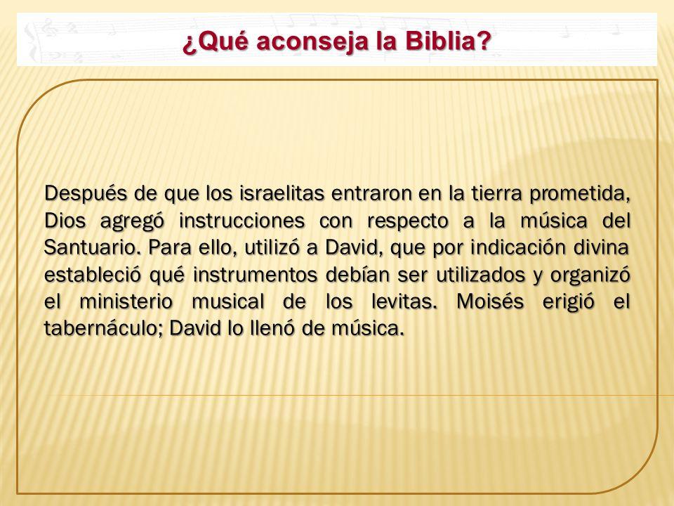¿Qué aconseja la Biblia