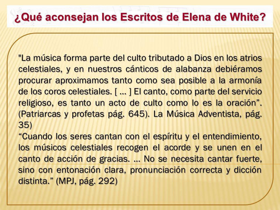 ¿Qué aconsejan los Escritos de Elena de White