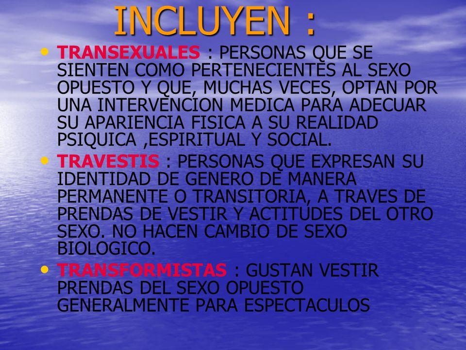 INCLUYEN :