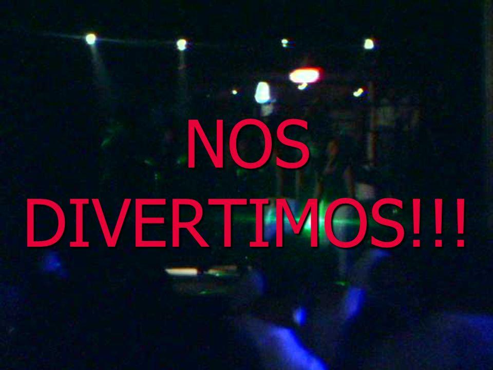 NOS DIVERTIMOS!!!