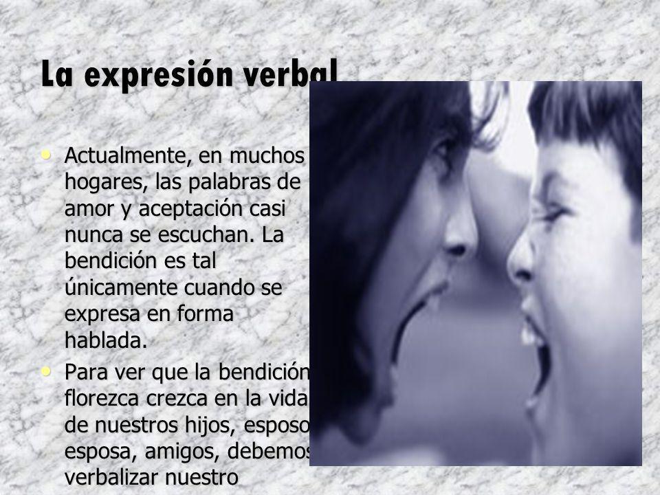 La expresión verbal