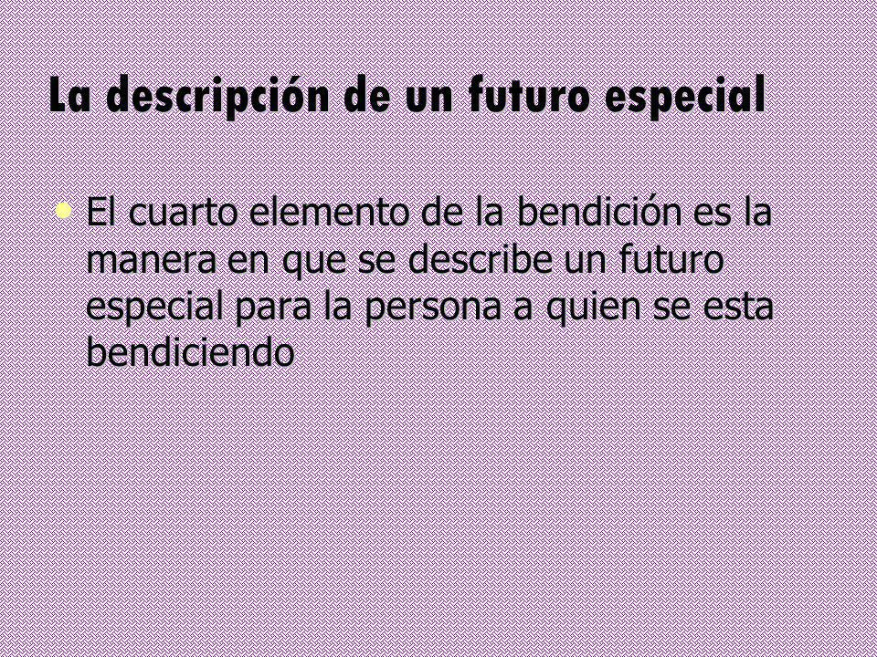 La descripción de un futuro especial