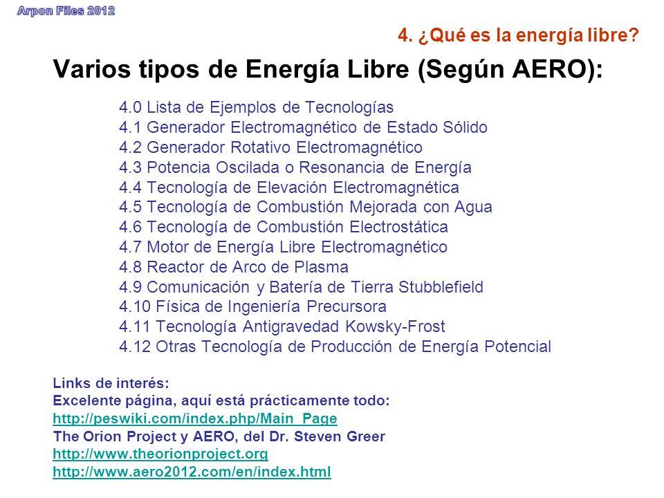 4. ¿Qué es la energía libre