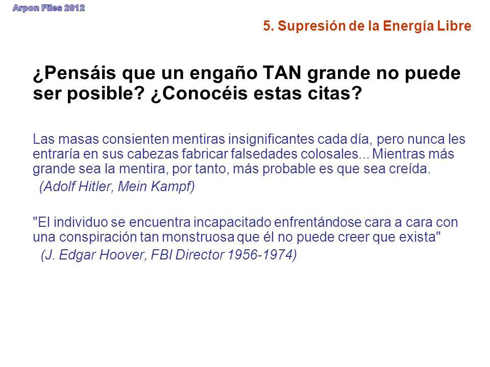 5. Supresión de la Energía Libre