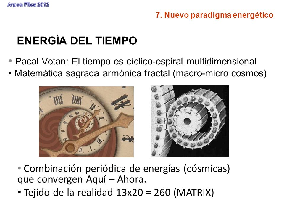 Pacal Votan: El tiempo es cíclico-espiral multidimensional