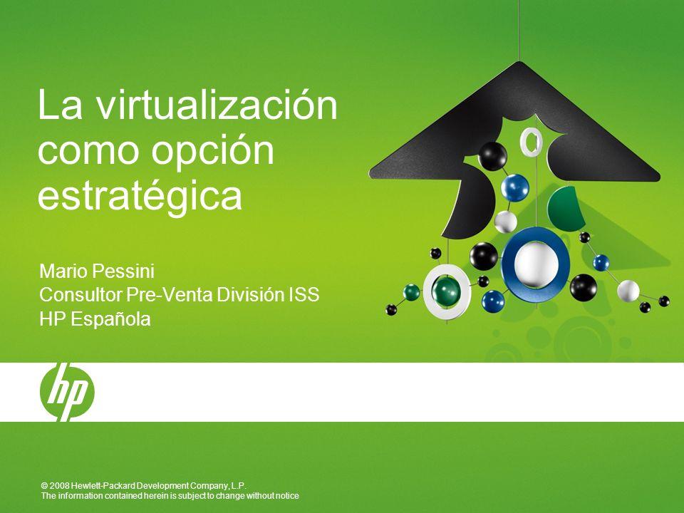 La virtualización como opción estratégica