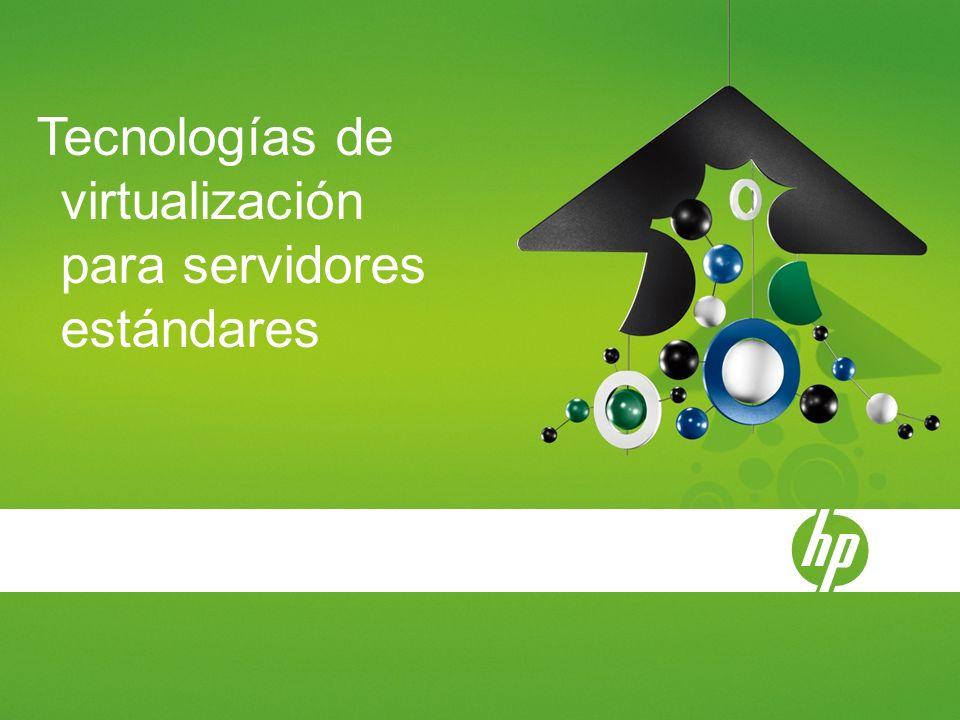 Tecnologías de virtualización para servidores estándares