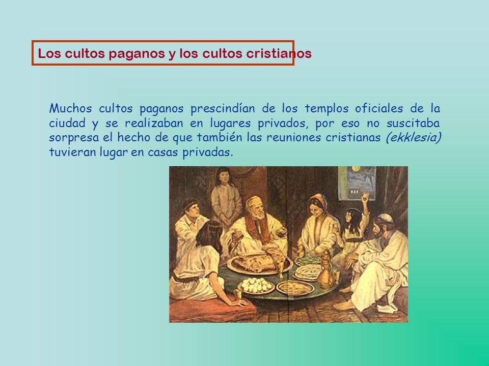 Los cultos paganos y los cultos cristianos