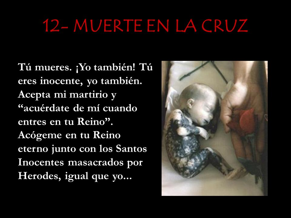 12- MUERTE EN LA CRUZ