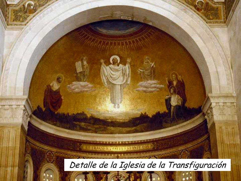 Detalle de la Iglesia de la Transfiguración