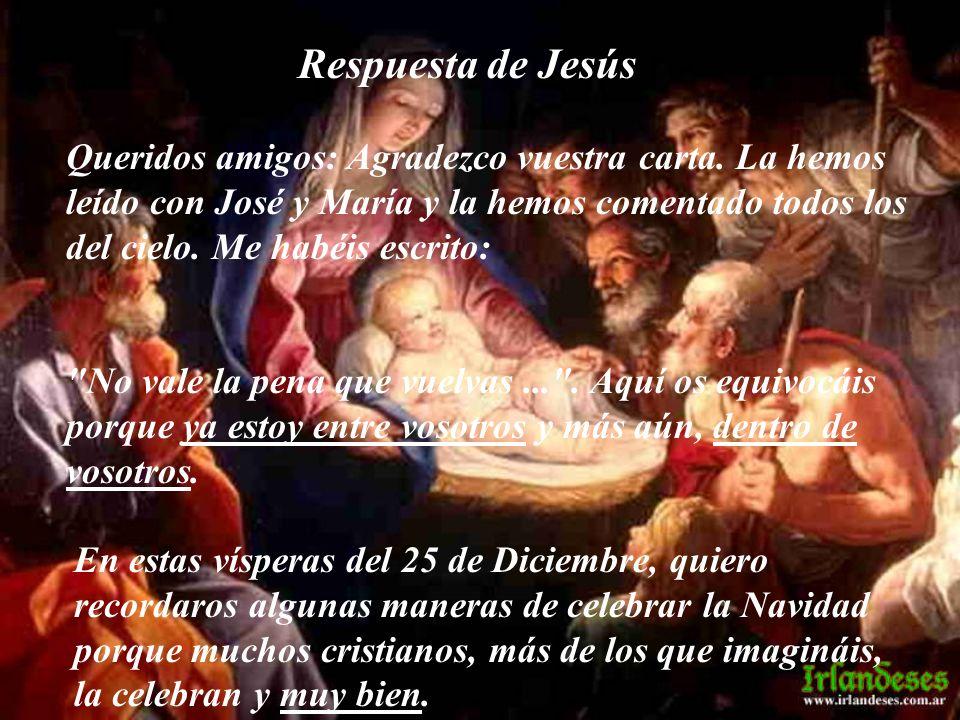 Respuesta de Jesús