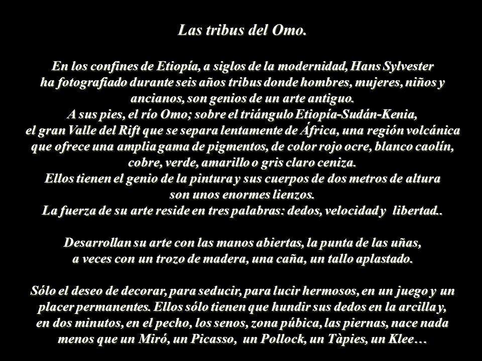 Las tribus del Omo.