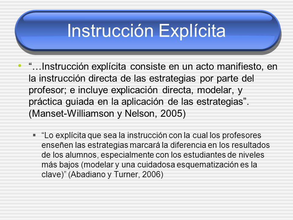 Instrucción Explícita