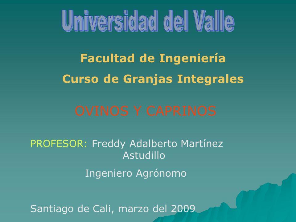 Facultad de Ingeniería Curso de Granjas Integrales