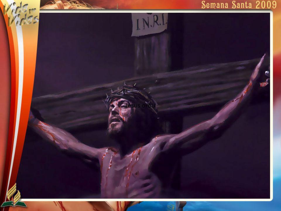 Jesus orou
