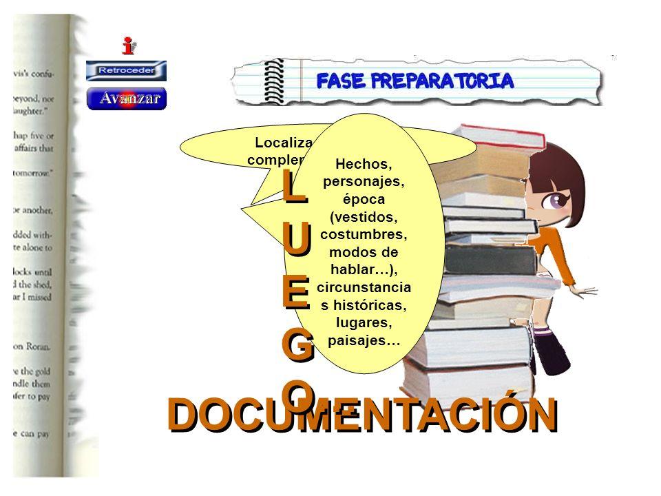Localiza información complementaria sobre: