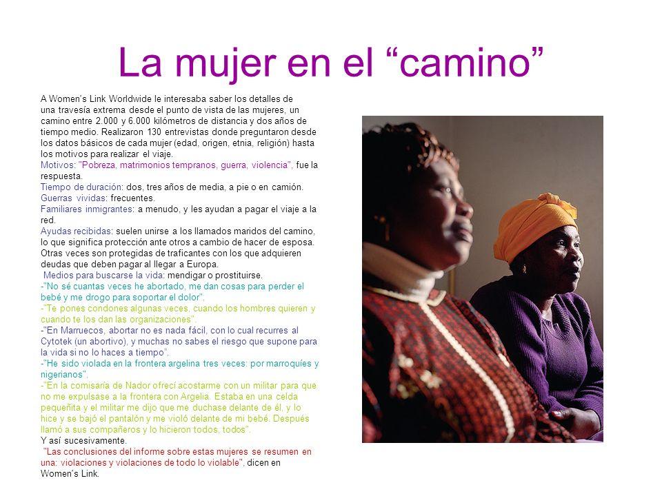 La mujer en el camino A Women s Link Worldwide le interesaba saber los detalles de.