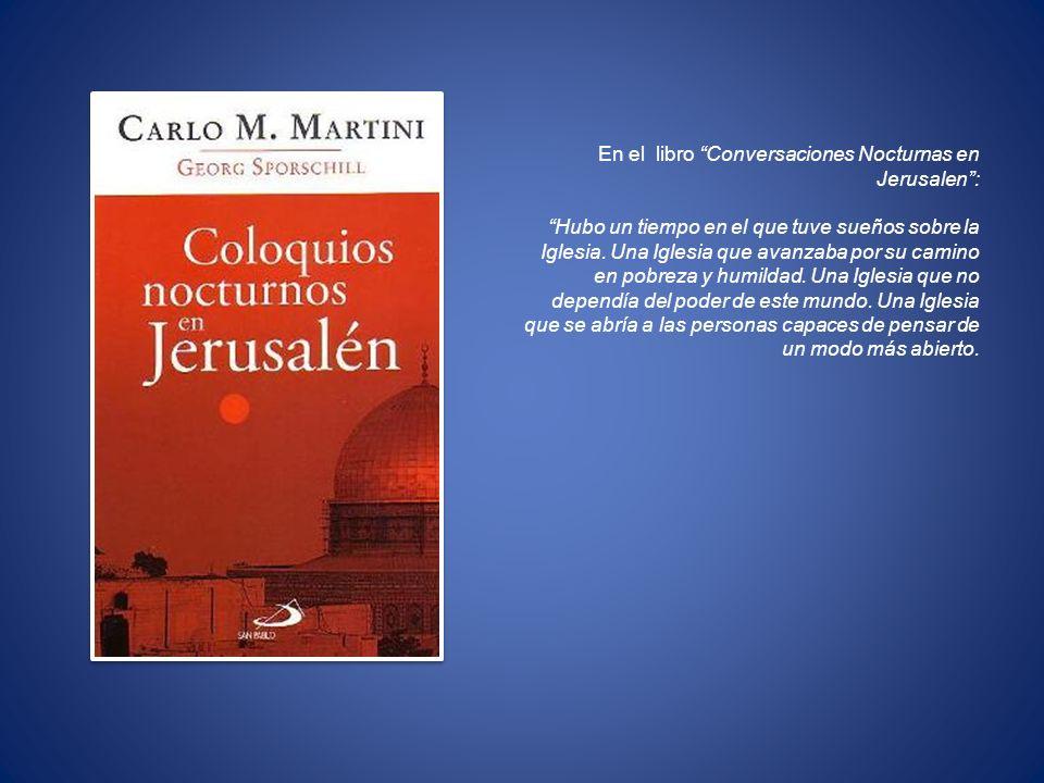 En el libro Conversaciones Nocturnas en Jerusalen :