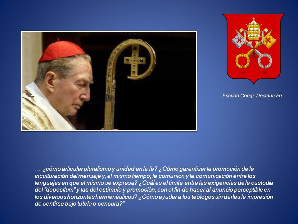 Escudo Congr. Doctrina Fe